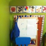 Easel & Art area